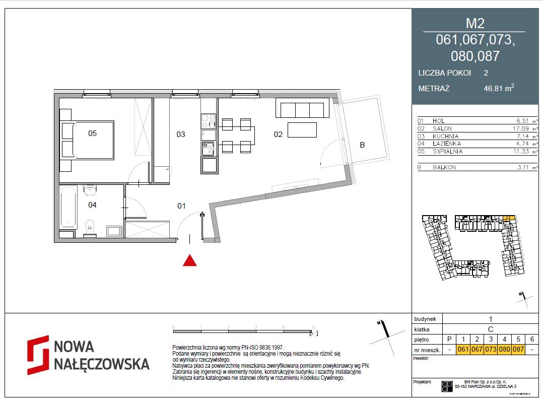 Mieszkanie numer 061