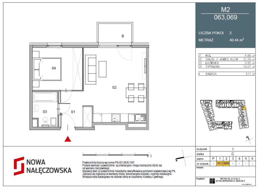 Mieszkanie numer 063