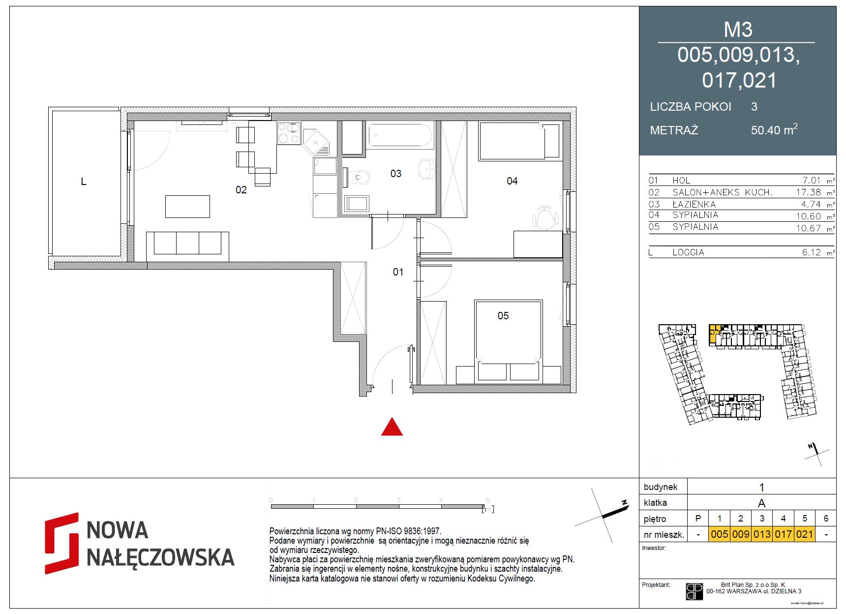 Mieszkanie numer 005