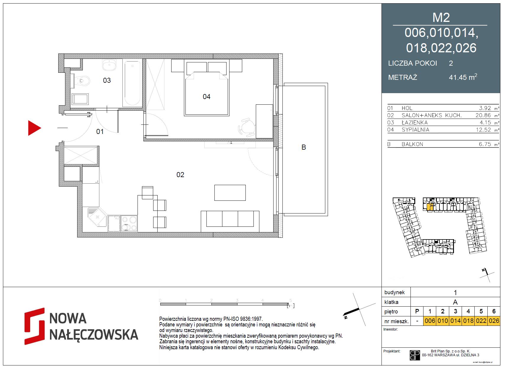 Mieszkanie numer 006
