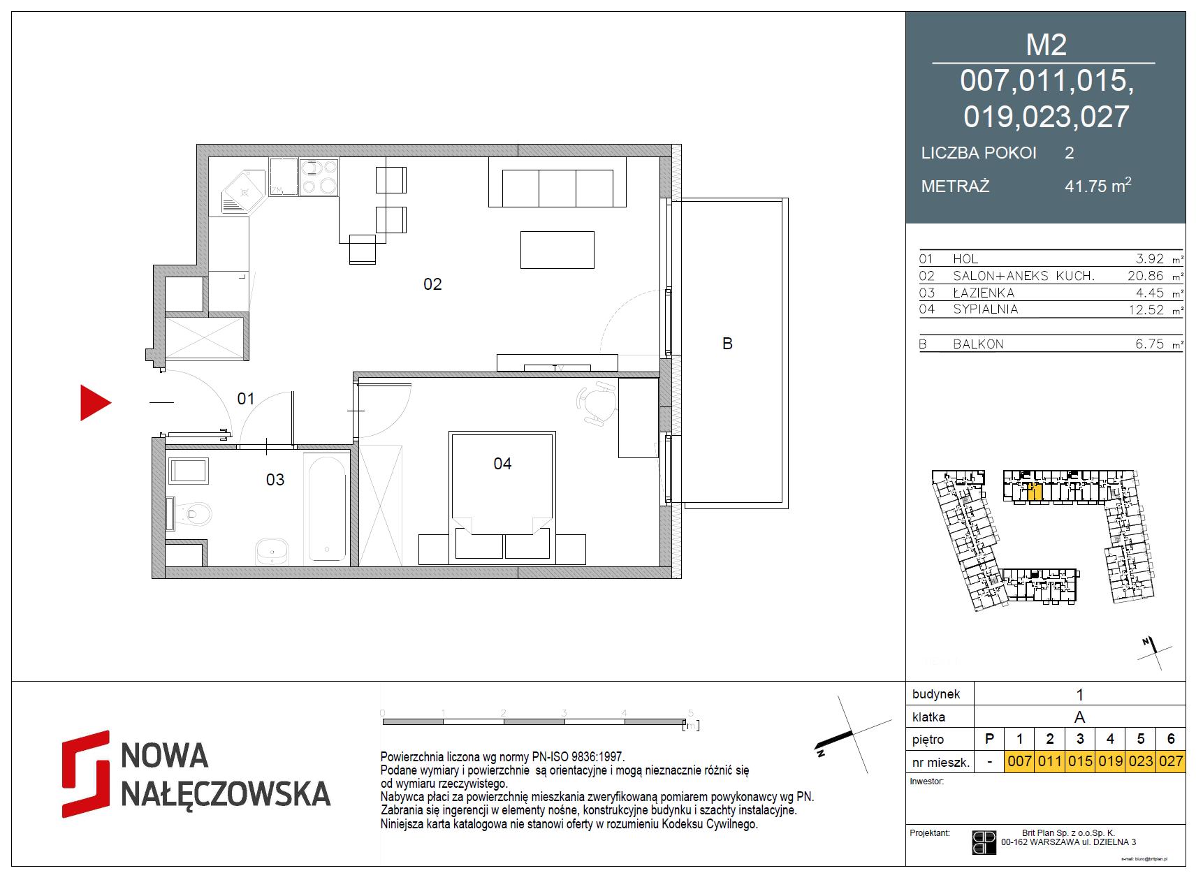 Mieszkanie numer 007