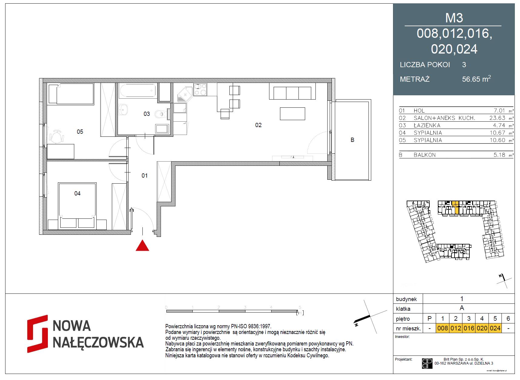 Mieszkanie numer 008
