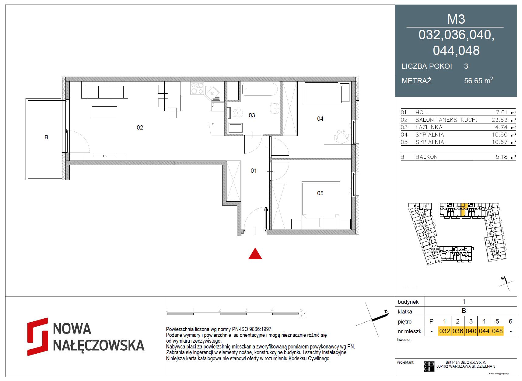Mieszkanie numer 032