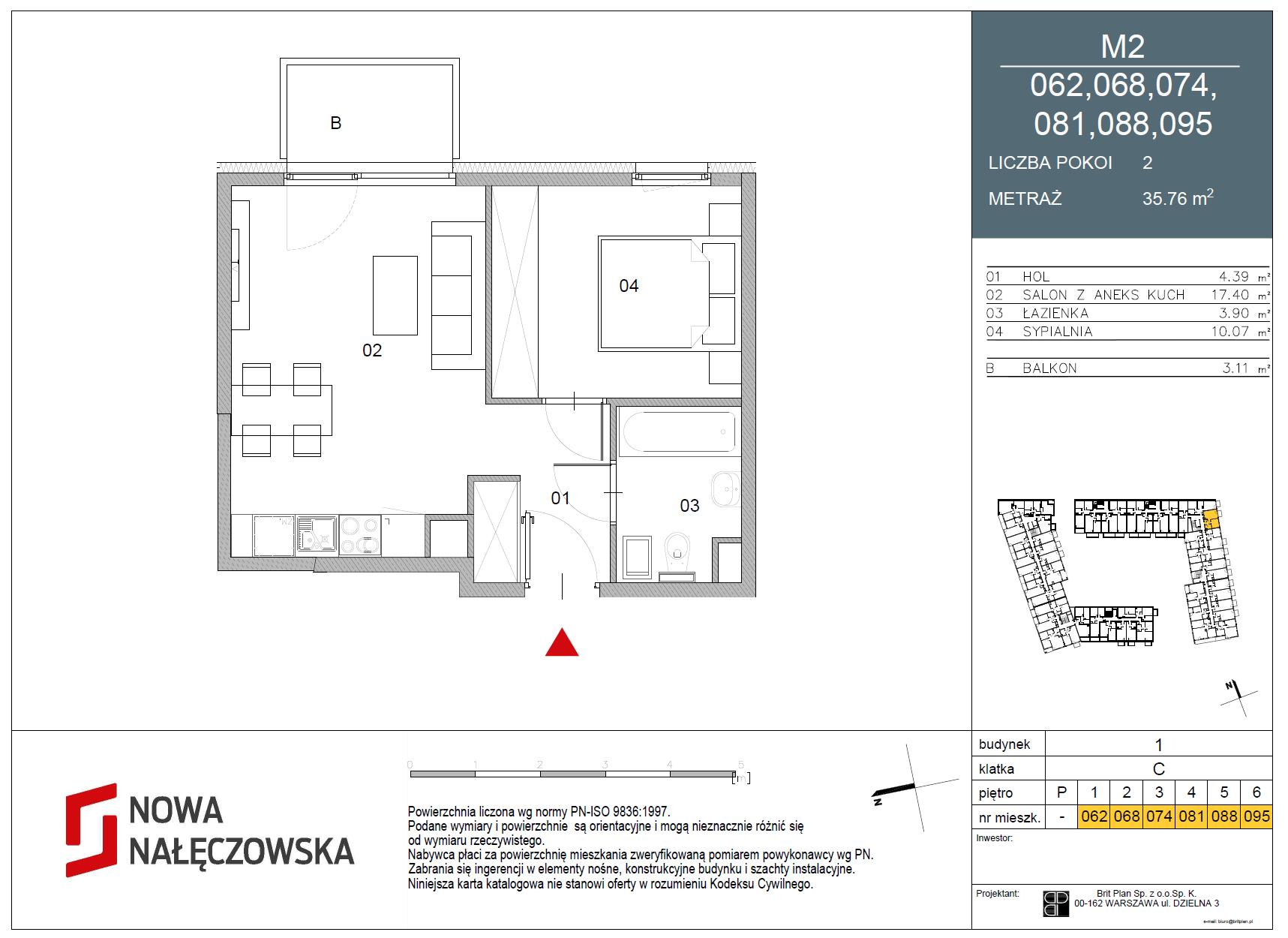 Mieszkanie numer 062