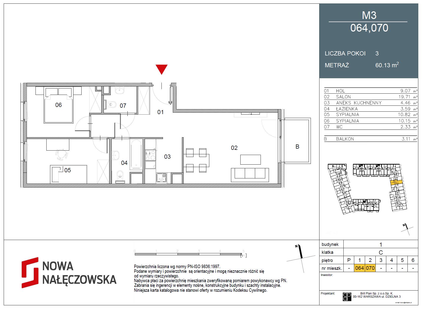 Mieszkanie numer 064