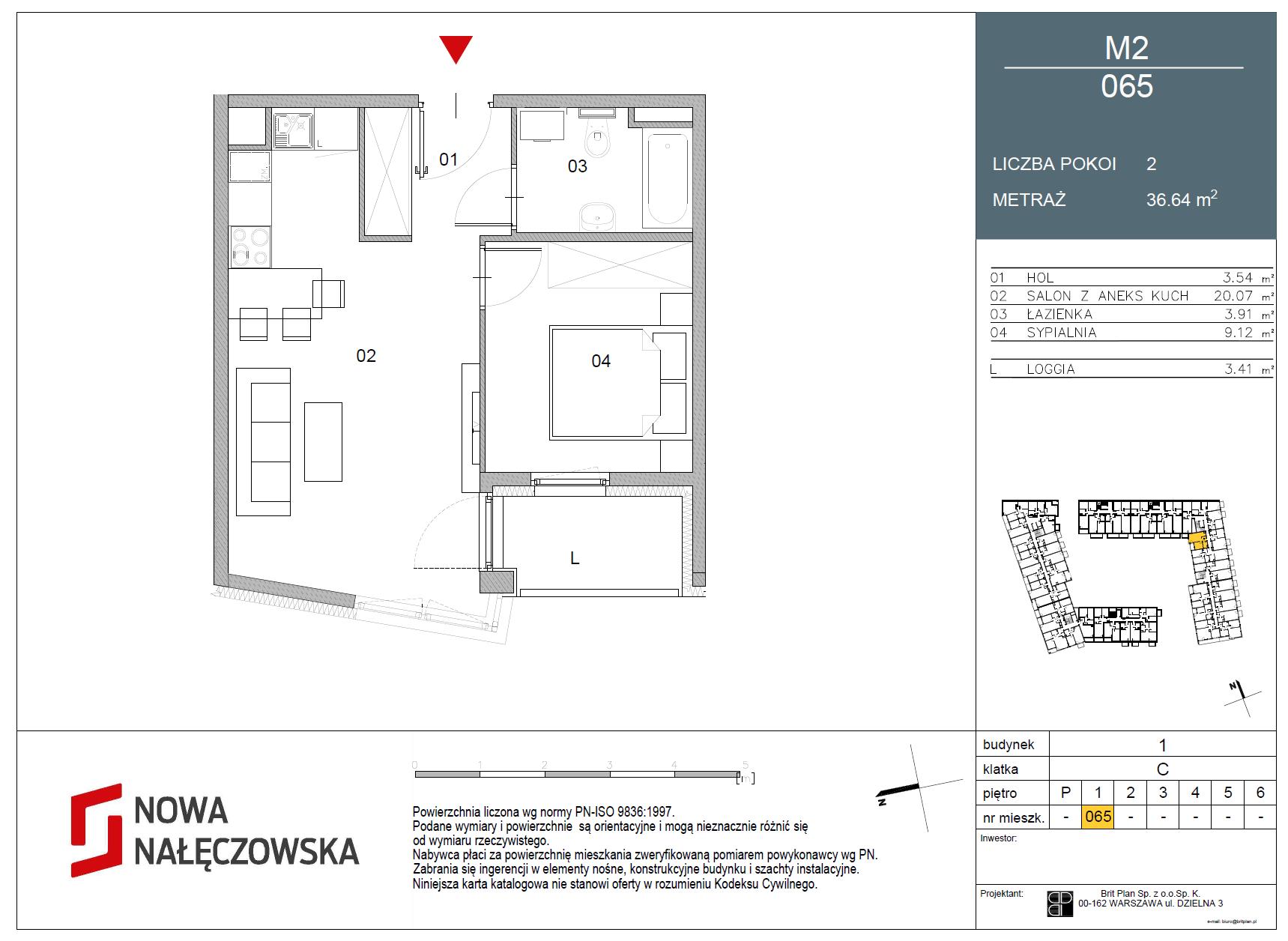 Mieszkanie numer 065