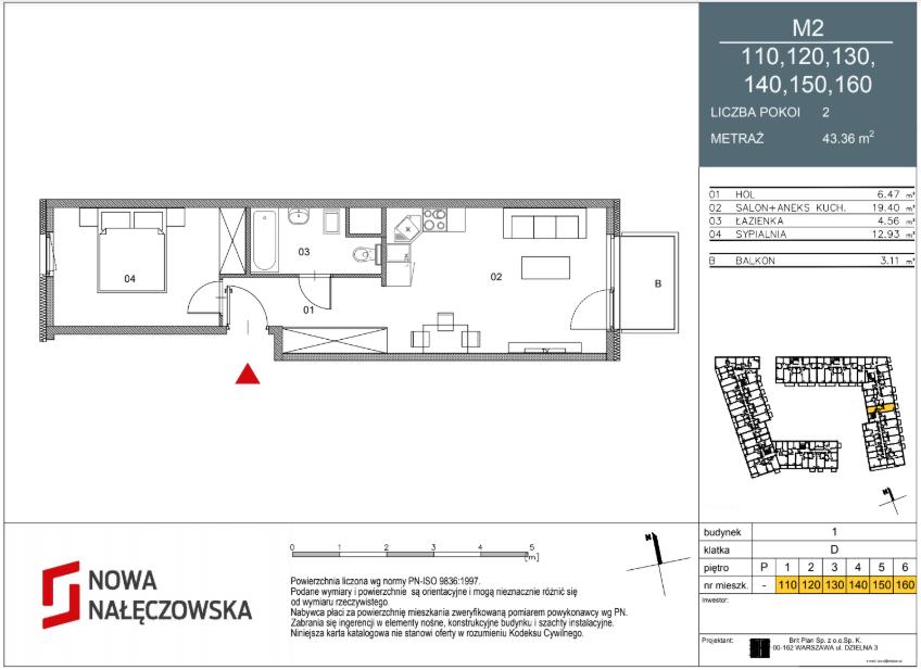 Mieszkanie numer 110