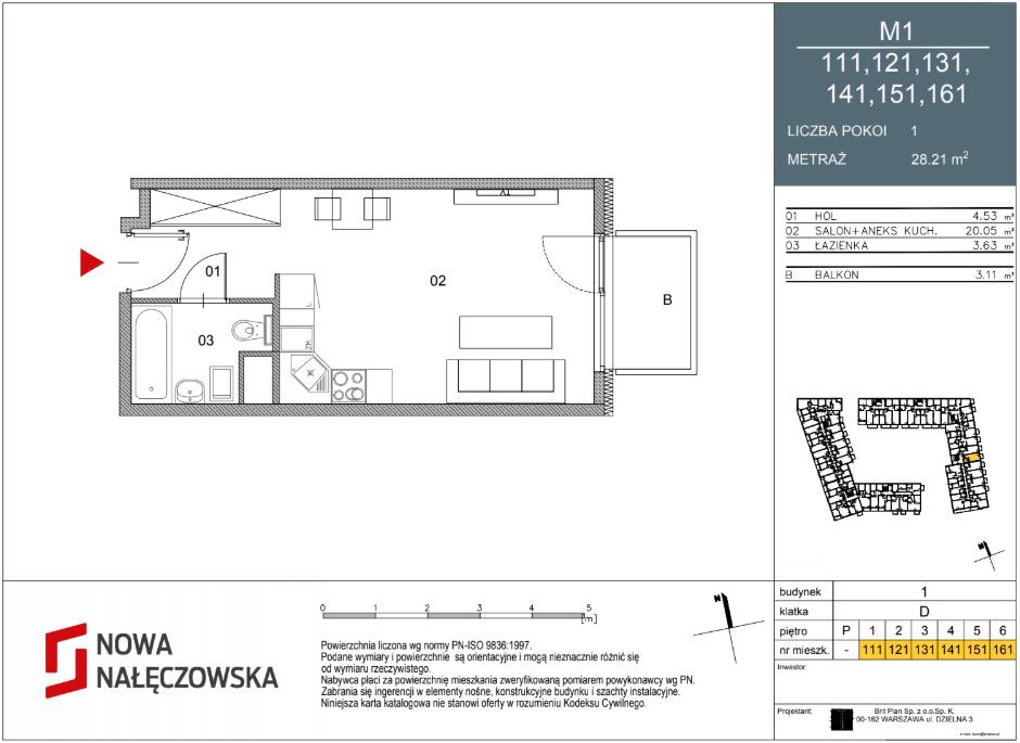 Mieszkanie numer 111