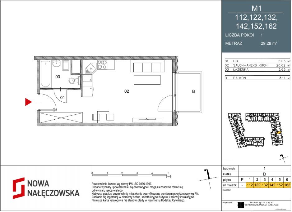 Mieszkanie numer 112