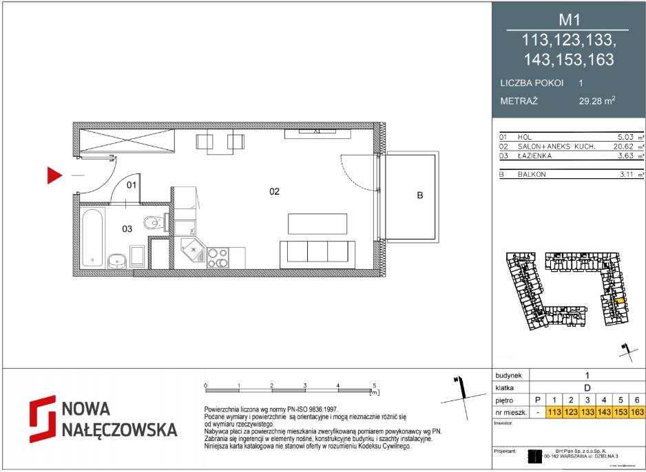 Mieszkanie numer 113