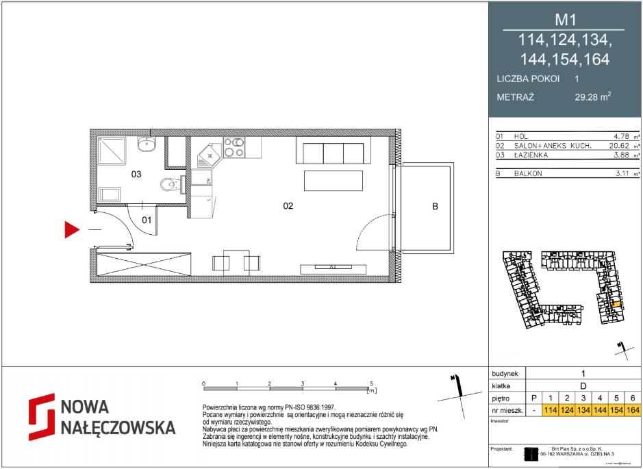 Mieszkanie numer 114