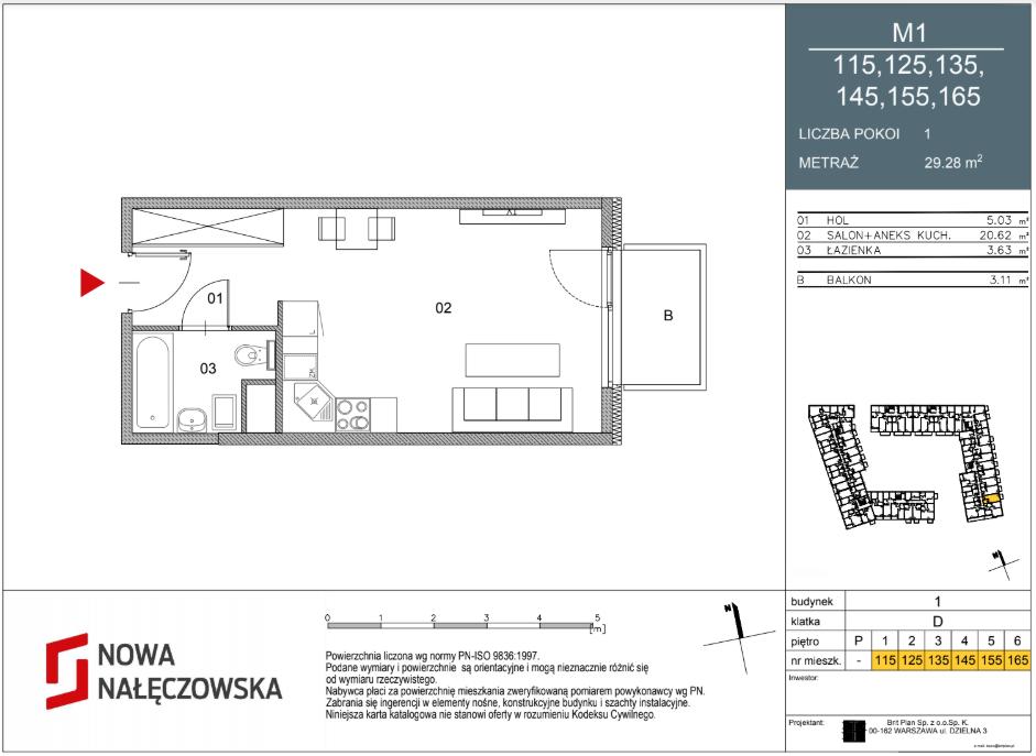 Mieszkanie numer 115
