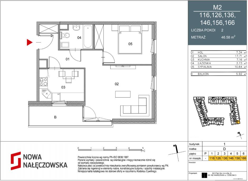 Mieszkanie numer 116