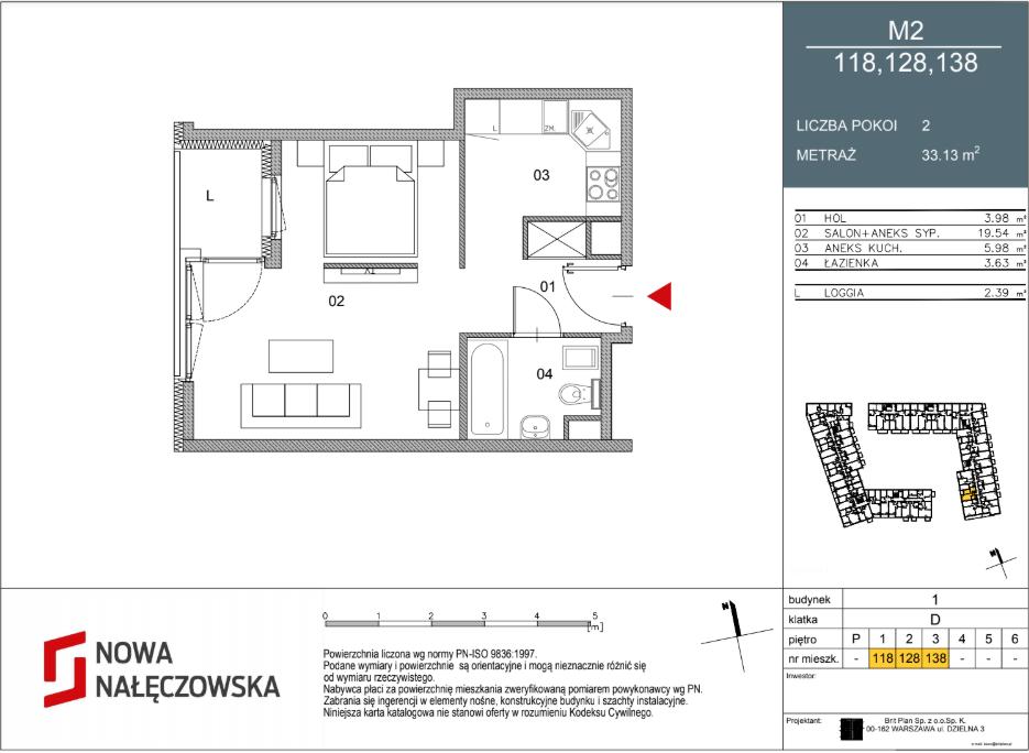 Mieszkanie numer 118
