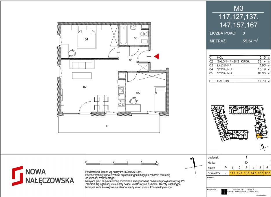Mieszkanie numer 117