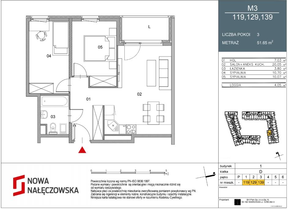 Mieszkanie numer 119