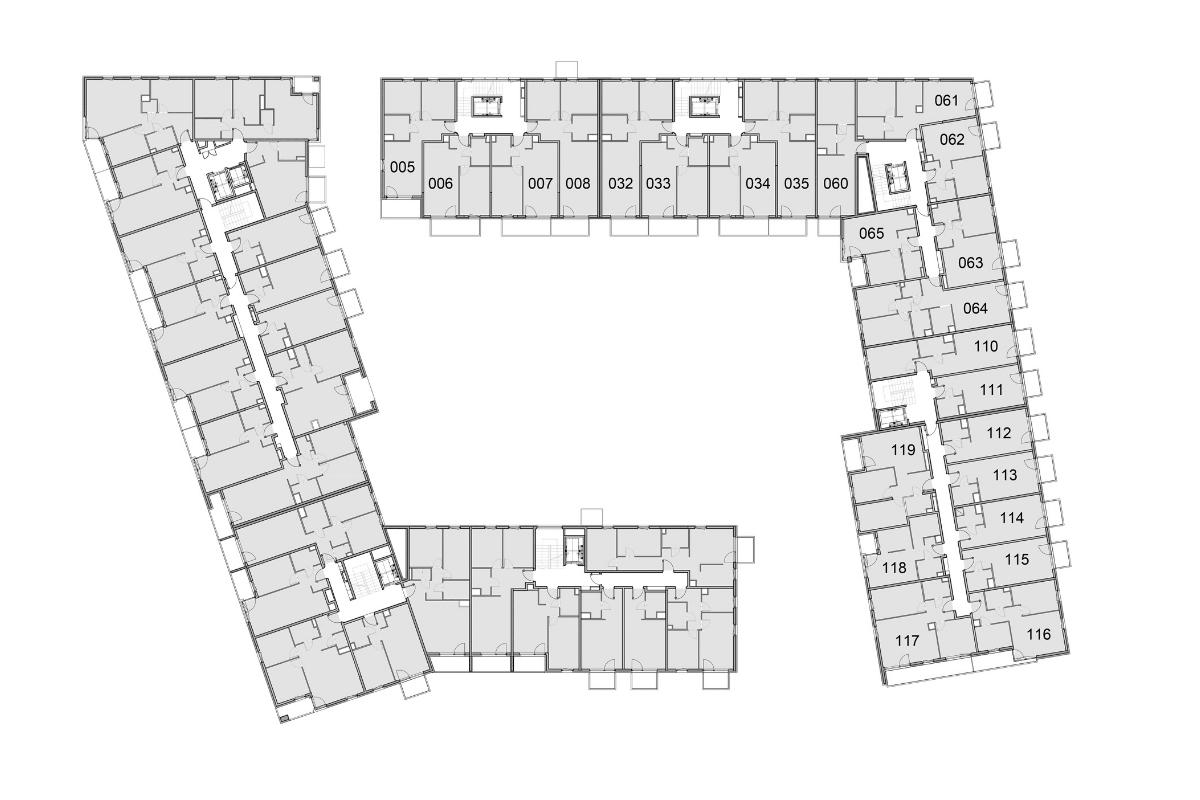 Budynek 1 Piętro 1